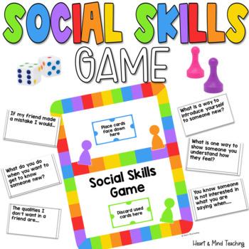 Social Skills game; making friends, self reflection, socia