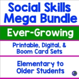Social Skills Activities Mega Bundle Speech Therapy