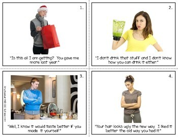 Social Skills to Reduce Rude Comments Color Photos Complete Program
