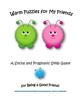 Social Skills/Pragmatic Skills Game for Speech Therapy