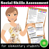 Social Skills Checklist Assessment