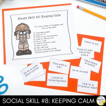Social Sleuths (10 Session Social Skills Group)