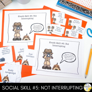 Social Skills Counseling Group - Social Sleuths