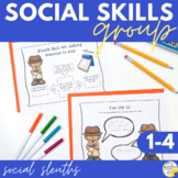 Social Skills Group Social Sleuths Social Skills Counseling Group