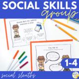 Social Skills Group Social Sleuths Social Skills Counseling Group