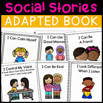 Social Stories Adapted Book Bundle: 8 Adapted Books