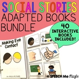 Social Stories Adapted Books Bundle