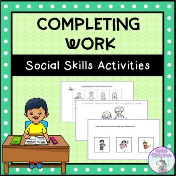 Rules and Procedures - Social Narratives and Activities BUNDLE