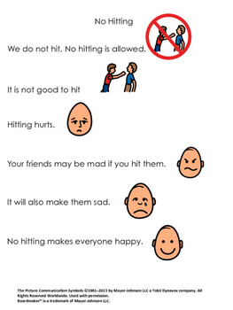 Social Stories: Behavior Edition Set 1