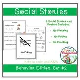 Social Stories: Behavior Edition Set 2