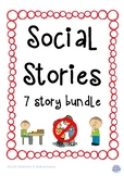 Social Stories Books Children with Autism Special Needs Be