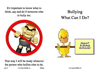 Social Stories - Bullying - What Can I Do?