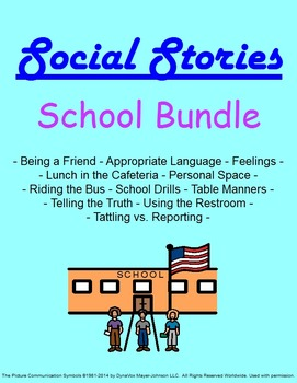 Social Stories: School Bundle