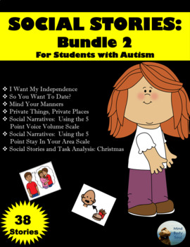 Social Stories:  Bundle 2 For Students With Autism