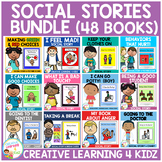 Social Stories Bundle (48 Books) Special Education Autism