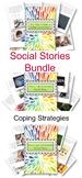 Social Stories Bundle Coping Strategies for Older Kids