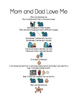 Social Stories Bundle - Divorce