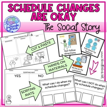 Social Stories- Changes are Okay for Autism/ED/Early Elem Behavior
