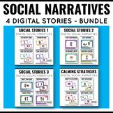 Social Stories Boom Cards Bundle