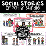 Social Stories Empathy Bundle Print Digital Video