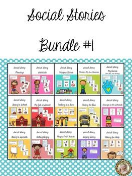 Social Stories - Growing Bundle #1