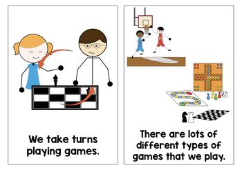 Social Stories Growing Bundle, Autism Social Story Pack