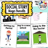 Year Round Social Stories Bundle - Special Education