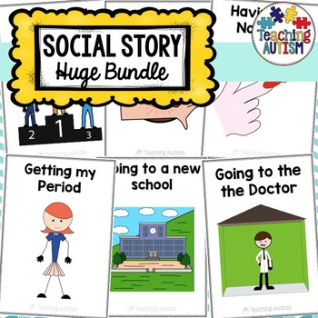 Social Stories for Autism and Special Needs Bundle