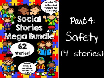 Social Stories Mega Bundle - PART 4 -- Speech therapy, Counseling, Autism, HFA