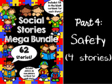 Behavior Stories for Social Skills 4 -- Speech therapy, Counseling, Autism, HFA