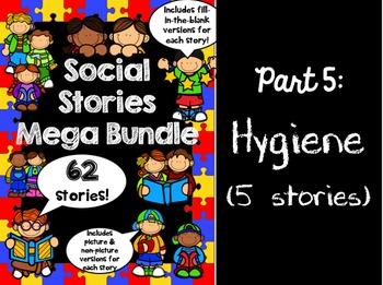 Social Stories Mega Bundle - PART 5 -- Speech therapy, Cou