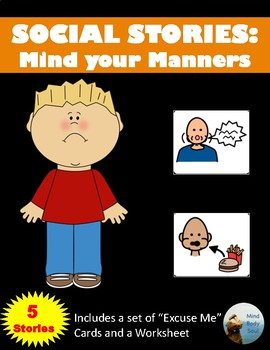 Social Stories:  Mind Your Manners