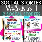 Social Stories Bundle Volume 1: 12 Social Stories Teaching Appropriate Behavior