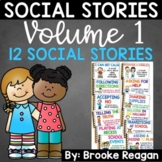 Social Stories Bundle Volume 1: 12 Social Stories Teaching Appropriate Behavior