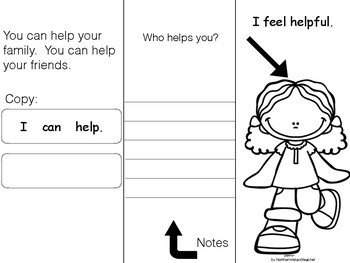 Social Stories -  Read, Think, Talk & Write. Age 3-6  6 GREAT STORIES Autism