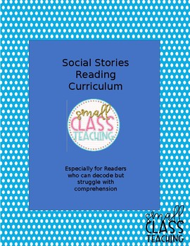 Social Stories for Reading Comprehension 3 Story Pack