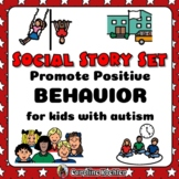 Social Stories Set: Visual Behavior Management Hands for Autism, Aspergers