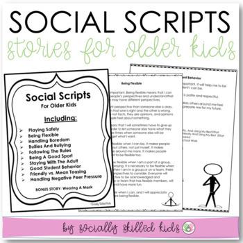 SOCIAL STORIES: Social Scenes