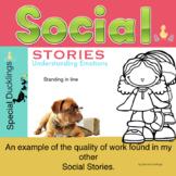 Social Stories: Standing in line  Autism SEN