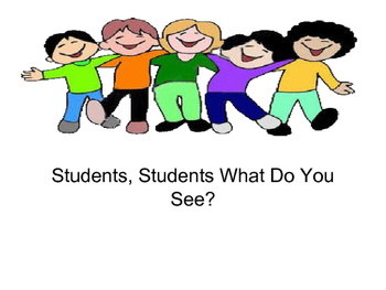 Social Stories (Students, Students, What Do You See?  & I Have Safe Hands)