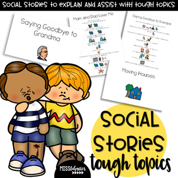 Social Stories - Tough Topics for Autism and Special Education