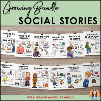 Social Stories (With Boardmaker Symbols) - A Growing Bundle!