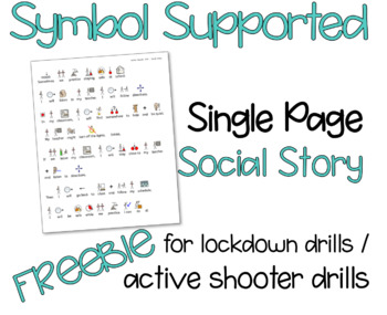 Social Story for Lockdown and Active Shooter Drills - Autism and Special Ed