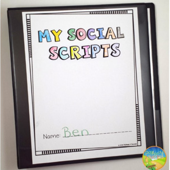Social Scripts for Autism - School