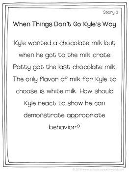 Social Stories for Behavior for K-2