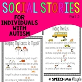 Social Stories for Children with Autism Part 2