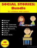 Social Stories for Children with Autism:  Bundle
