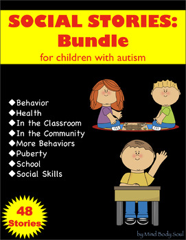 Social Stories for Children with Autism:  Bundle