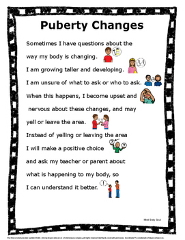 Social Stories for Children with Autism: Puberty