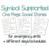 Social Stories for Emergency Drills and Different Days - Autism and Special Ed